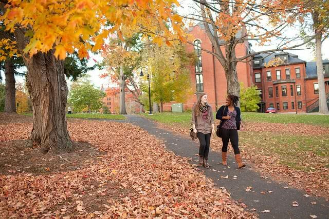 Fall is a great time to visit colleges for many reasons