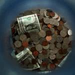 Coin jar - it's important to learn how to get scholarships. Even small awards add up.