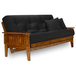 best futons Nirvana black futon set