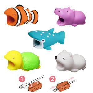 best phone accessories Newseego animal cable protectors
