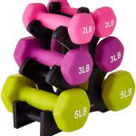 college must haves AmazonBasics dumbbells