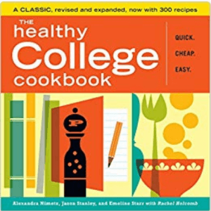 college must haves the Healthy College Cookbook