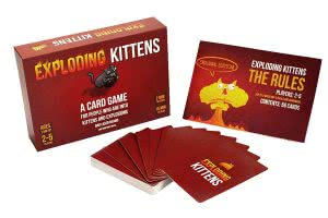 college party games Exploding Kittens