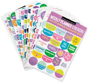 college planner stickers