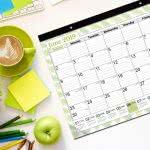 daily planner Cranbury large calendar