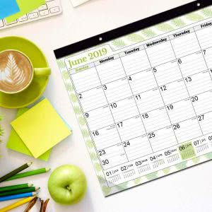 daily planner Cranbury large desk calendars