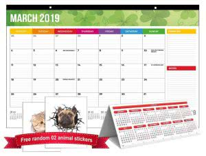 daily planner SkyRed pad desk calendars