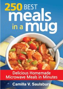 250 Best Meals in a Mug college cookbooks