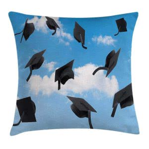 Ambesonne cushion cover cozy dorm room