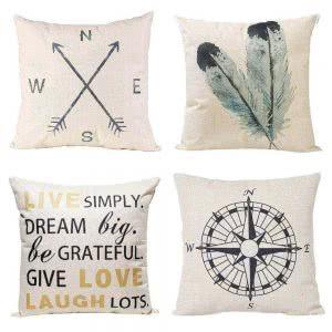 Anickal pillow covers cozy dorm room