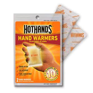 HotHands hand warmers warm clothes