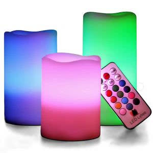 LED Lytes flameless candle alternatives