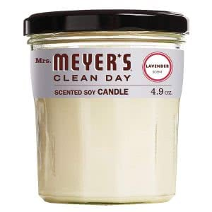 Mrs Meyer's Clean Day best candles for college students