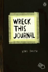Wreck This Journal college stress