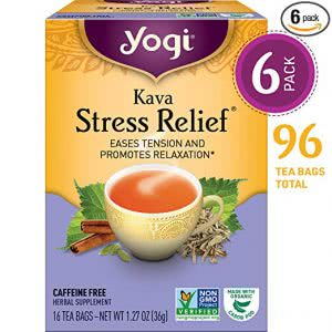 Yogi Kava stress relief tea college stress
