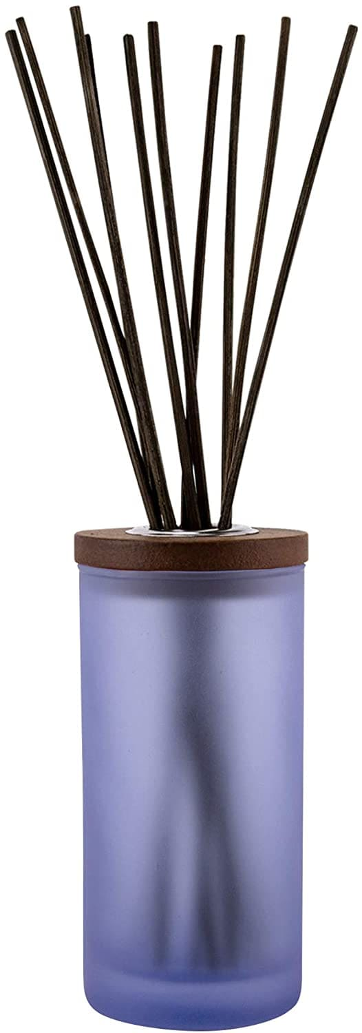 A lavender and thyme scented candle reed diffuser.