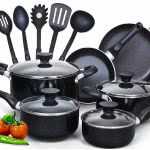 college apartment essentials Cook N Home cookware set