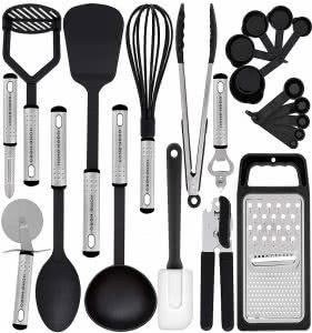 college apartment essentials HomeHero cooking utensils
