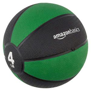 workout accessories AmazonBasics medicine ball