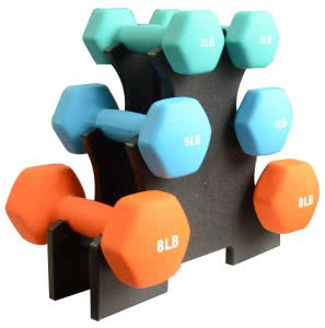 workout accessories BalanceFrom dumbbells