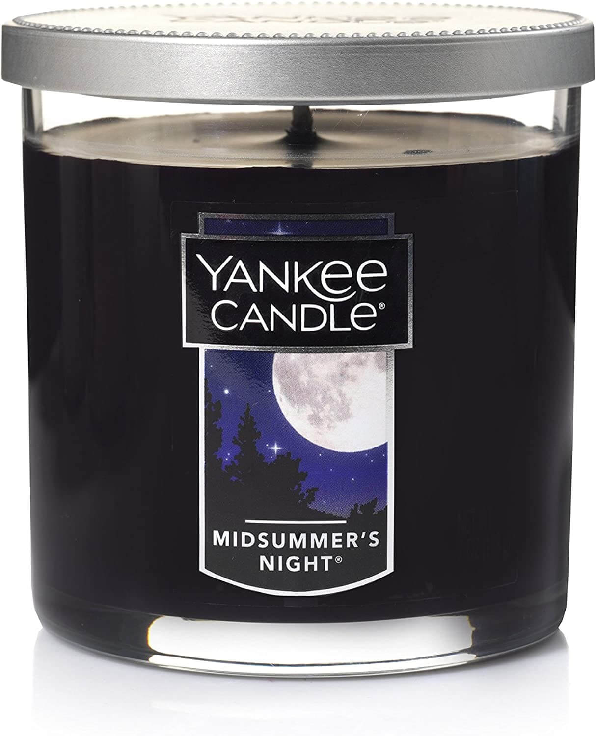 A small black candle