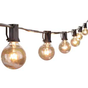 25Ft G40 Globe String Lights wall lights