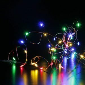 CYLAPEX Fairy String Lights wall lights