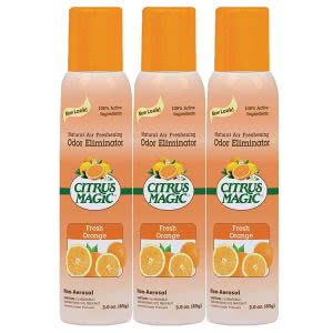 Citrus Magic air freshener spray. Click to view its Amazon Page.