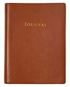 Eccolo Tan Writing Journal journals