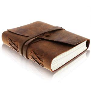 Leather Journal Writing Notebook journals