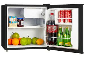 Midea compact dorm refrigerator