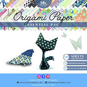 MozArt Supplies Origami Paper Set crafts