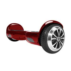 Red Swagtron hoverboard scooter. Click to view its Amazon page.