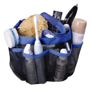 what to bring to college Attmu mesh shower caddy