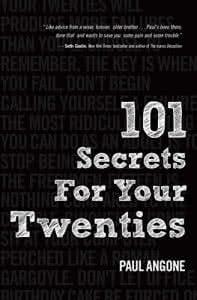 101 Secrets For Your Twenties self help books