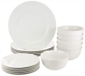 AmazonBasics dinnerware sets