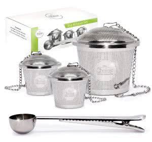 Chefast tea infuser set tea kettles