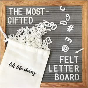 Felt Like Sharing changeable message board