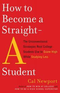 How to Become a Straight A Student schoolwork book