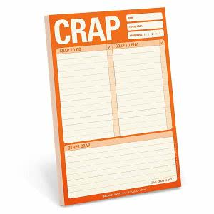 Knock Knock Note Pad gifts for college students
