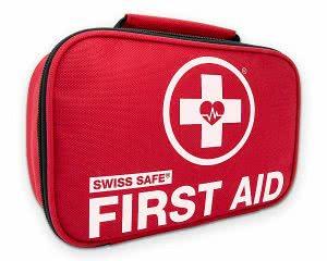 Swiss Safe first aid health kit