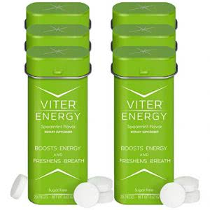 how to stay awake Viter Energy mints