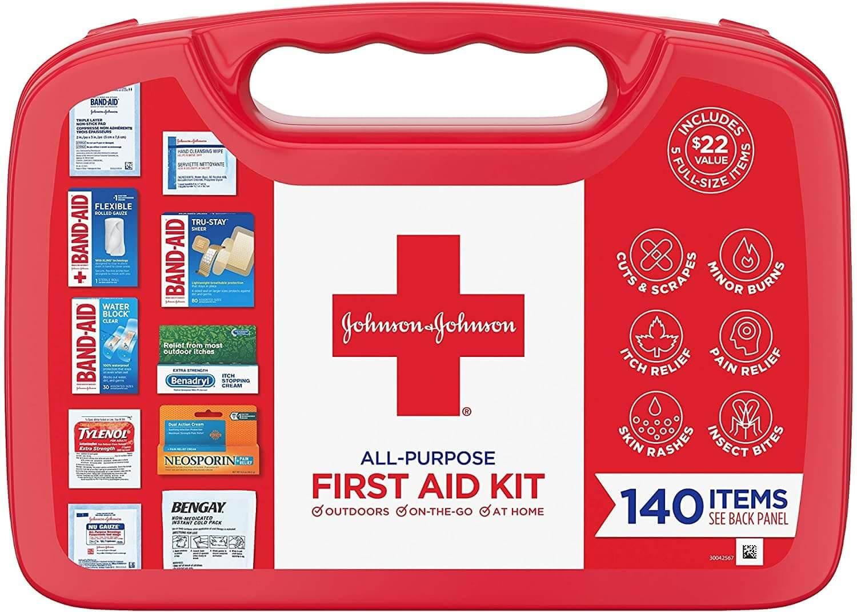 Johnson & Johnson first aid kit