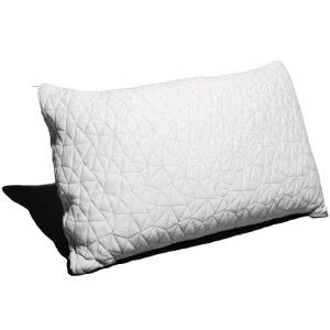 sleep tips Coop Home Goods memory foam pillow
