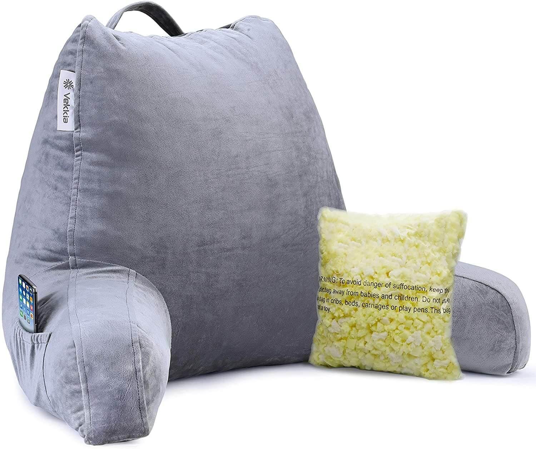 Vekkia premium soft reading pillow