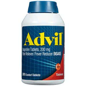 what's in my backpack Advil pain reliever
