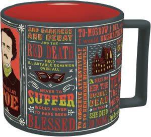 Edgar Allen Poe mug gifts for english majors