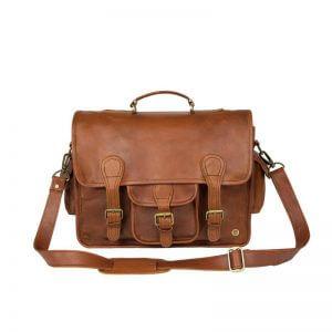 Mahi Leather Messenger Bag