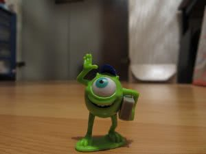 Mike Wazowski toy from Monsters University, one of many fun college movies