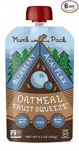 Munk Pack oatmeal squeeze college food